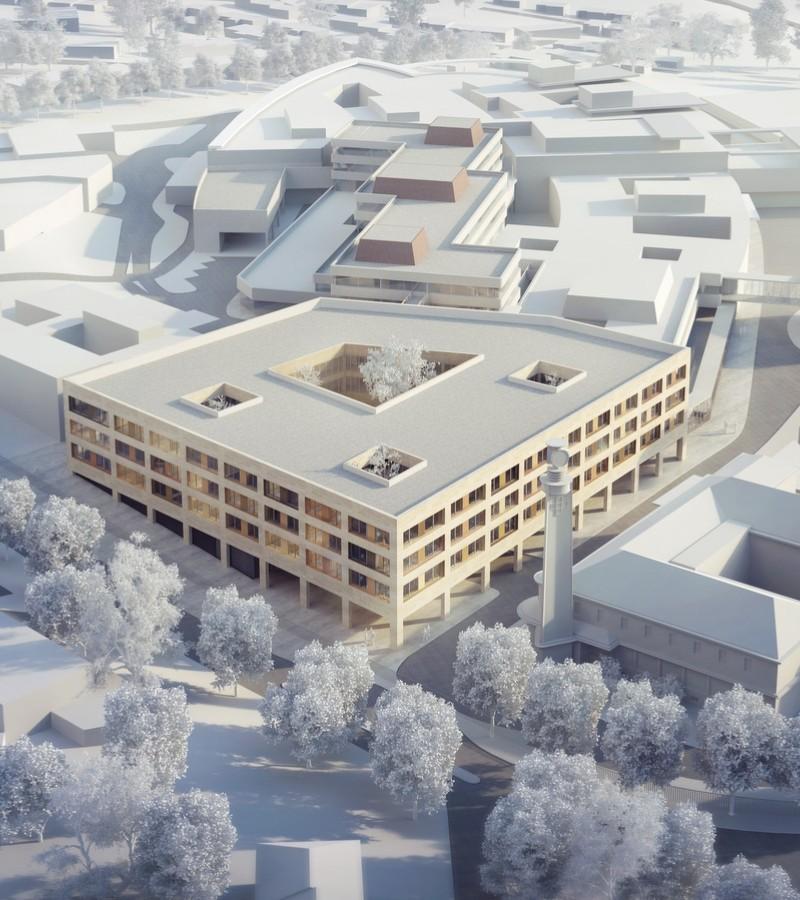 Tranche 2 De L Hopital De Perigueux Projets Bartolo Contre Architectes